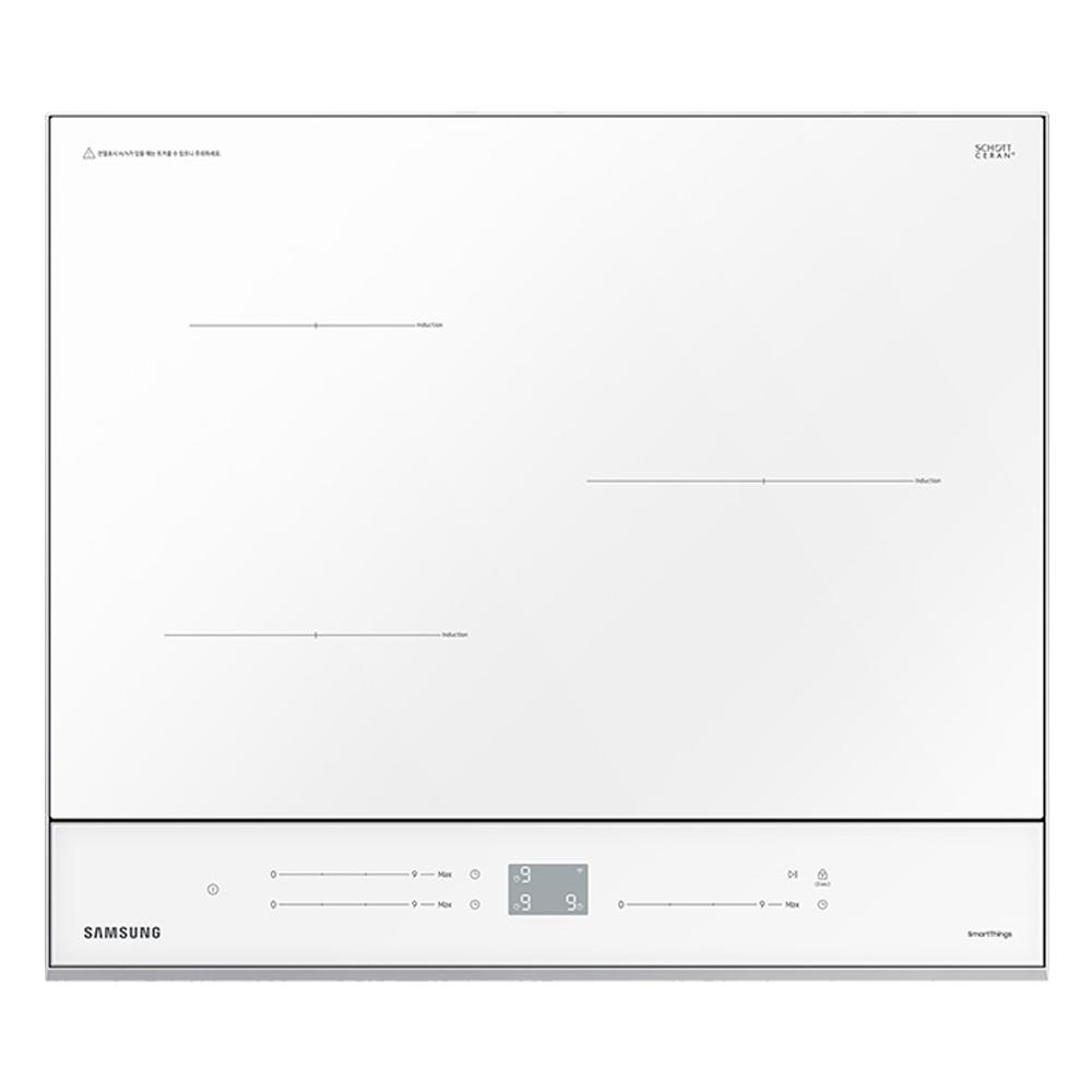 삼성전자 BESPOKE 빌트인 인덕션 클린화이트 3구 NZ63T8708XW 방문설치