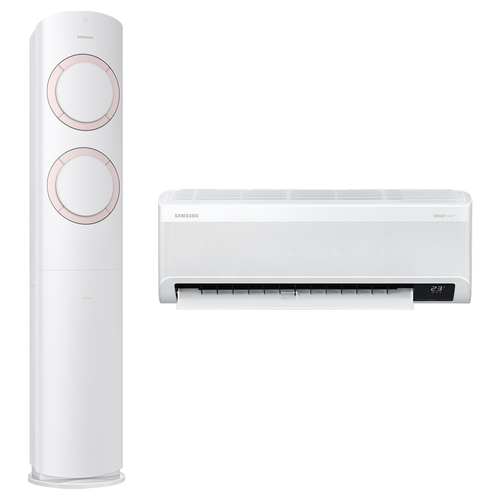 삼성전자 BESPOKE Q9000 에어컨 홈멀티형 AF17A6474NZRT 방문설치, 일반배관형 (POP 5465598713)