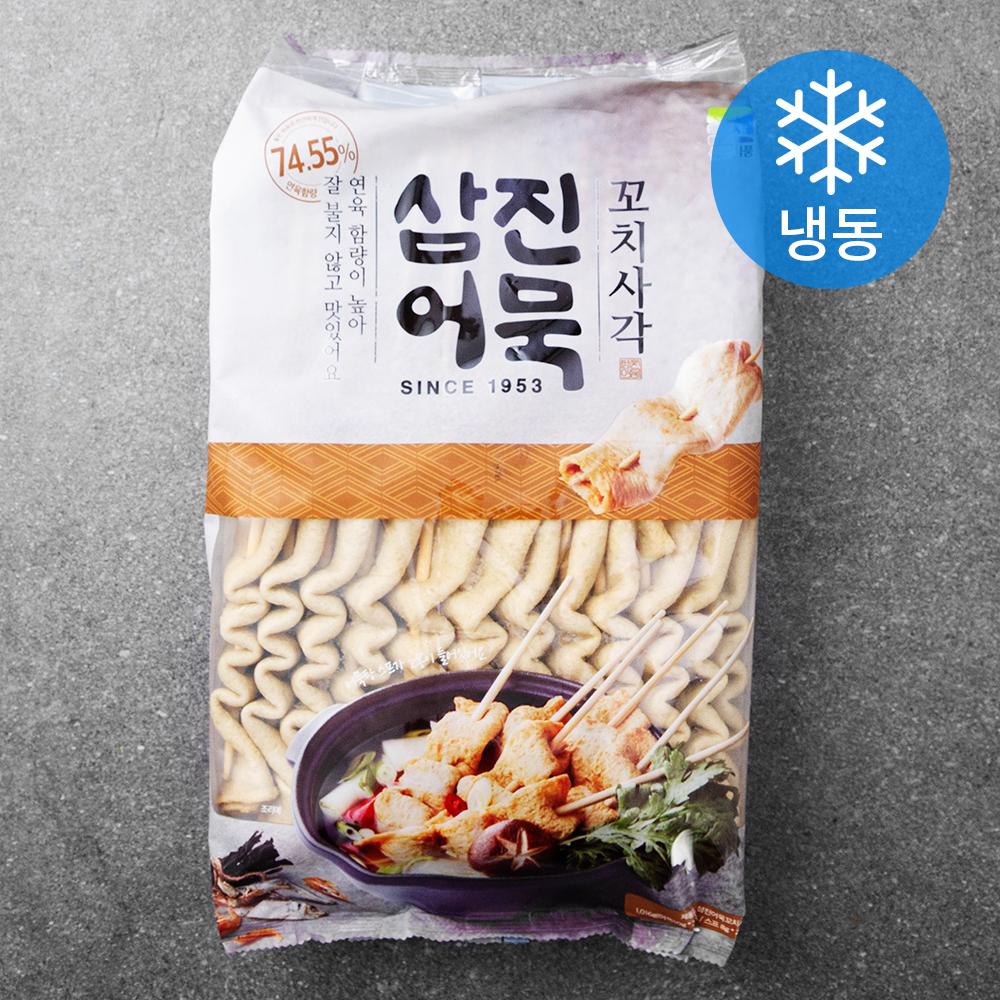 삼진어묵 꼬치사각 (냉동), 1016g, 1개