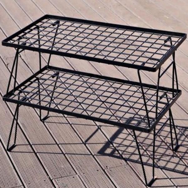 레드스노우 블랙쿨러 캠핑 스탠드 2p + 감성가방, 혼합색상