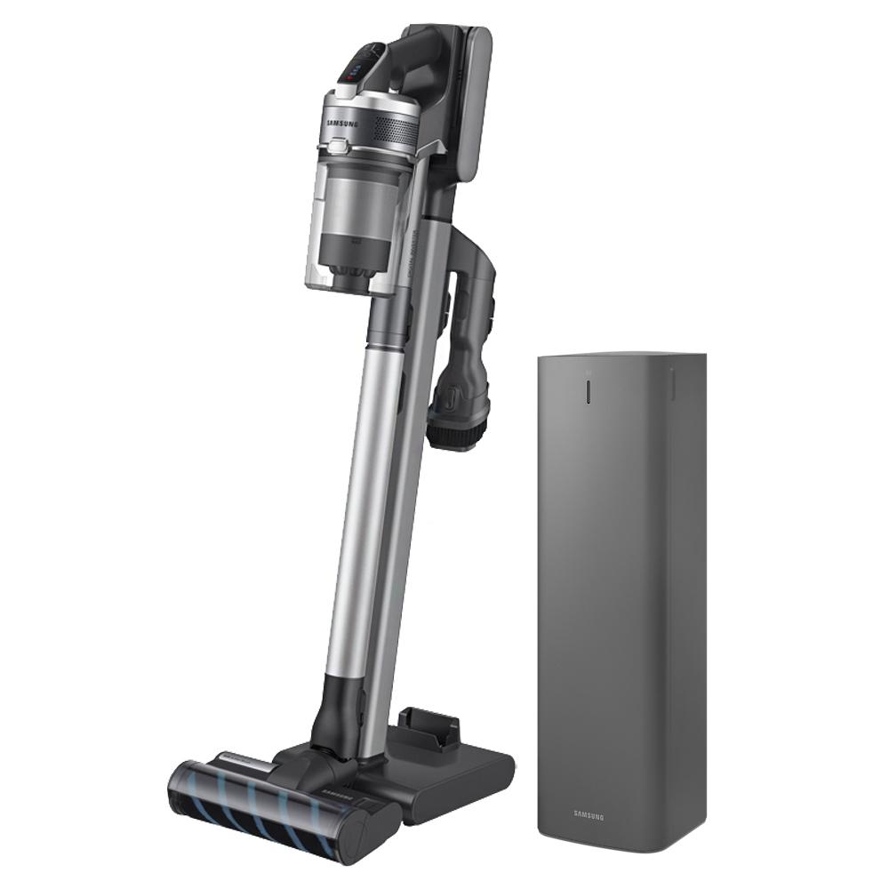 삼성전자 제트 SE 청정스테이션 무선 청소기 패키지 방문설치, VS20T9213QDCC, 티탄 + 그레이(청소기), 실버(청정스테이션)-29-5484591582