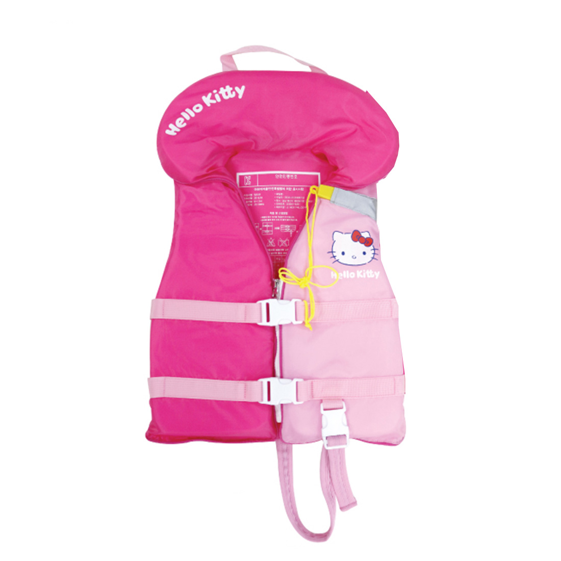 사나디 아동용 헬로키티 수영 보조복 35kg, 핑크-15-5486186183