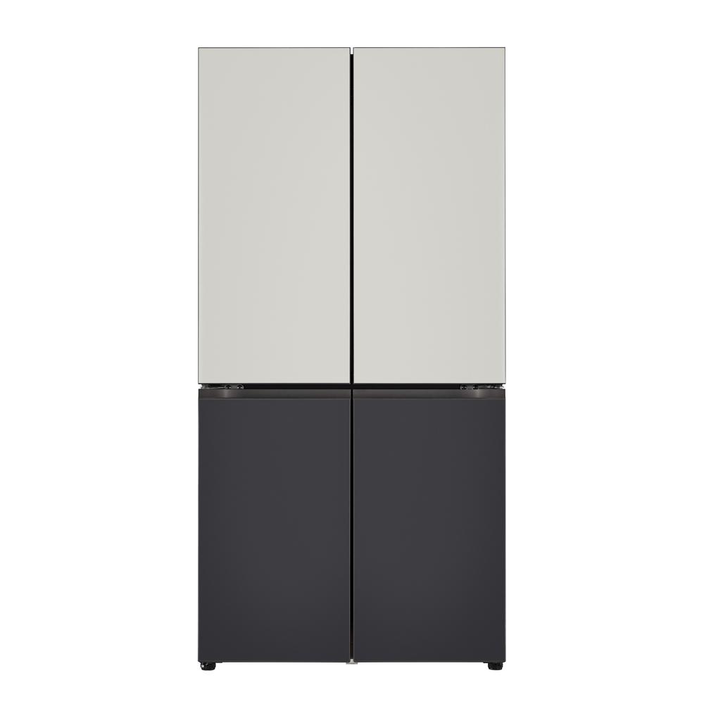 LG전자 오브제컬렉션 상냉장하냉동 냉장고 M871MGB043S 870L 방문설치