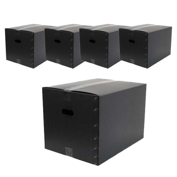 단프라 이사박스 4호, 블랙, 5개 (POP 5508993950)