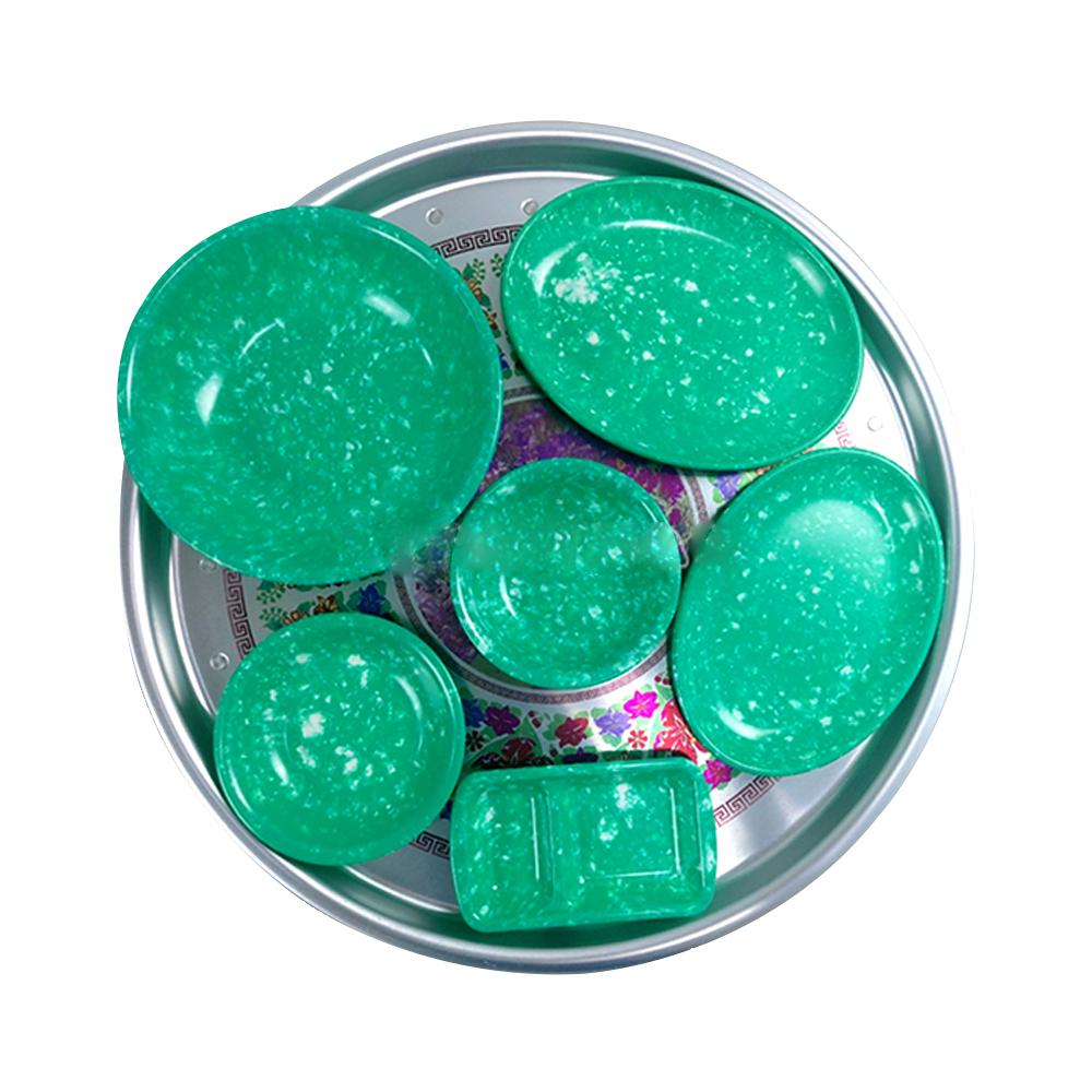 손할매 레트로 양은 밥상 2호 + 짜장 그릇 6종 세트, 혼합색상-6-5613593328