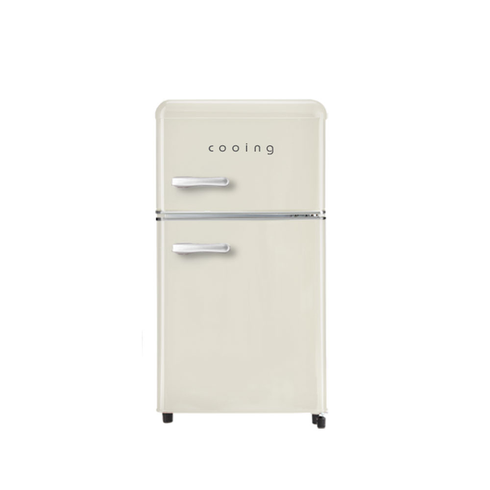 쿠잉 스타일리쉬 레트로 에디션 냉장고 80L 방문설치, REF-D85C-10-5647610543