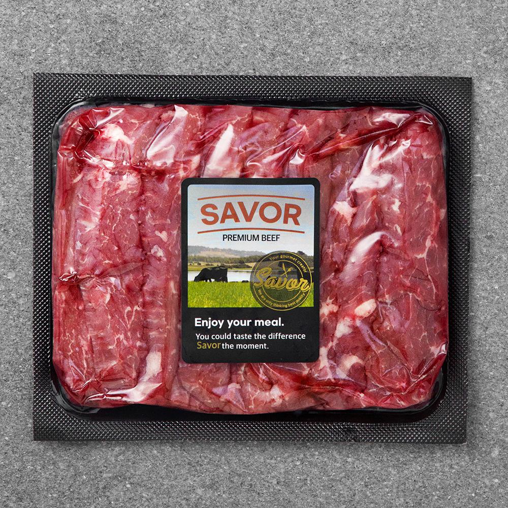 [블랙앵거스] SAVOR 호주산 블랙앵거스 치마살 구이용 (냉장), 400g, 1개 - 랭킹25위 (15000원)