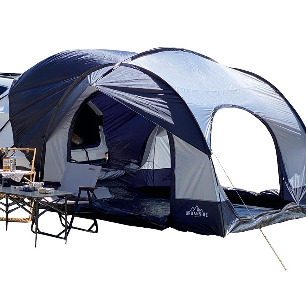 어반사이드 suv Protect 3 플러스 캠핑 도킹쉘터 차박 텐트, 네이비 + 그레이