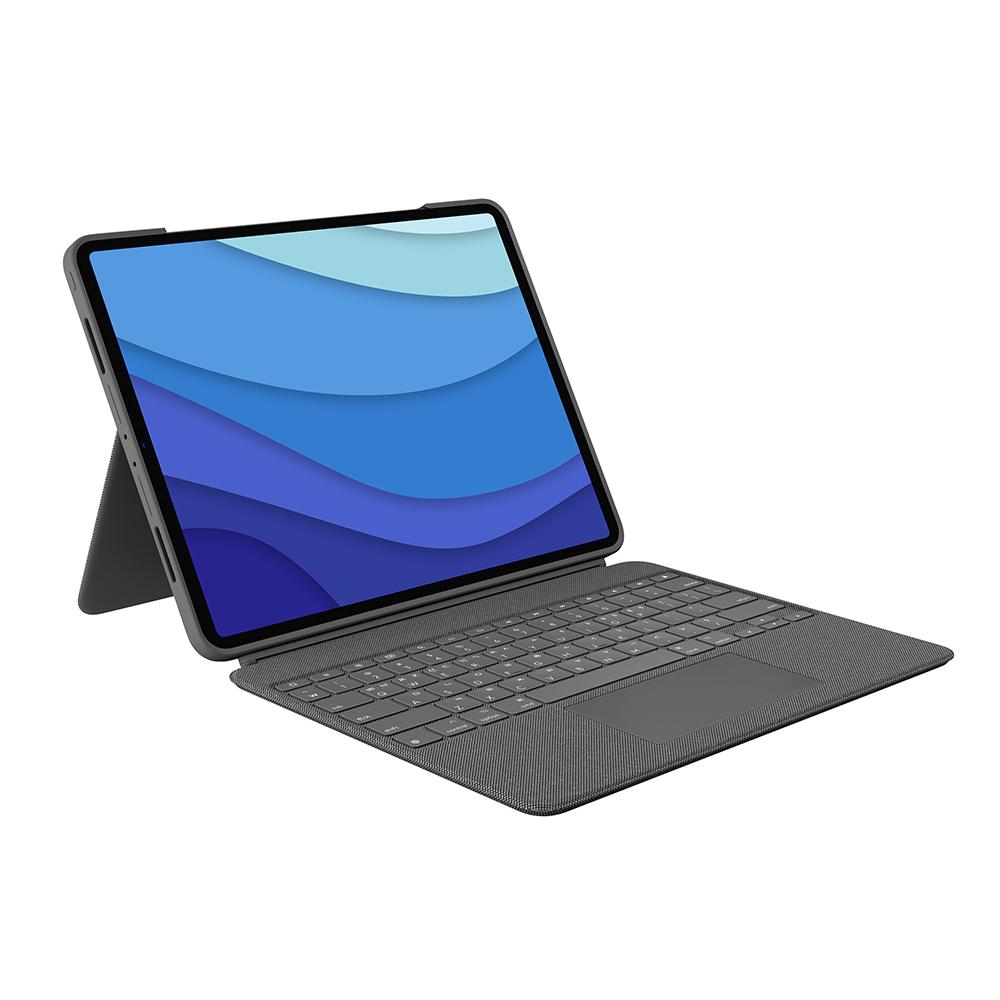 로지텍 Combo Touch 백라이트 키보드 태블릿 케이스 YU0048