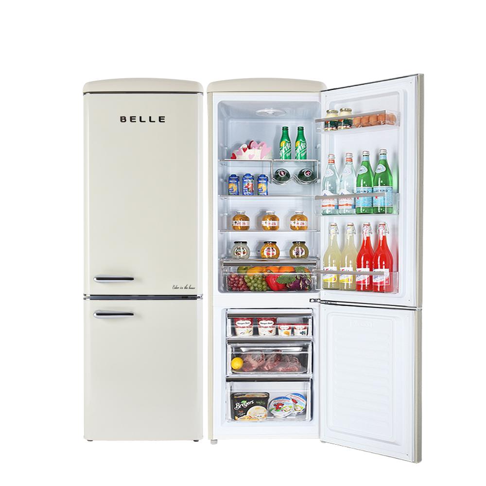 BELLE 뉴레트로 소형 상 냉장고 270L 방문설치, NRC27ACM (POP 5689185003)
