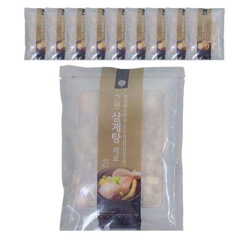 [몸애조화] 몸애조화 간편 삼계탕 재료, 30g, 10개 - 랭킹5위 (12900원)