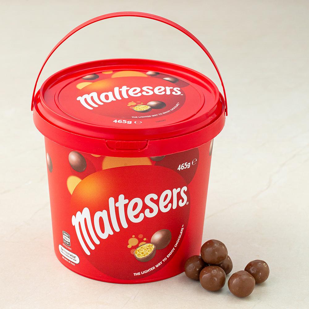 [Gold box] 몰티져스 밀크 초콜릿 버켓, 465g, 1개 - 랭킹1위 (9550원)