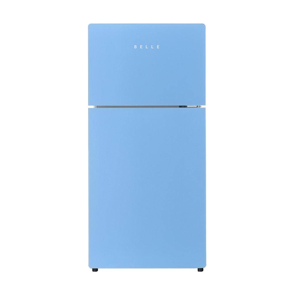 BELLLE 레트로 글라스 일반형 냉장고 127L 방문설치, SR-D13AS (POP 5717406944)