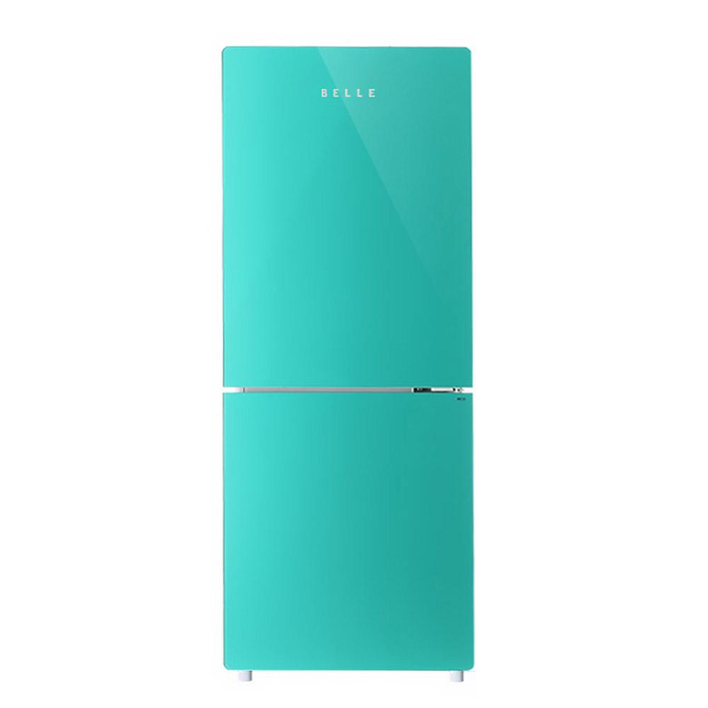 BELLE 레트로 글라스 소형 상 냉장고 146L 방문설치, SR-C15AM (POP 5717406925)
