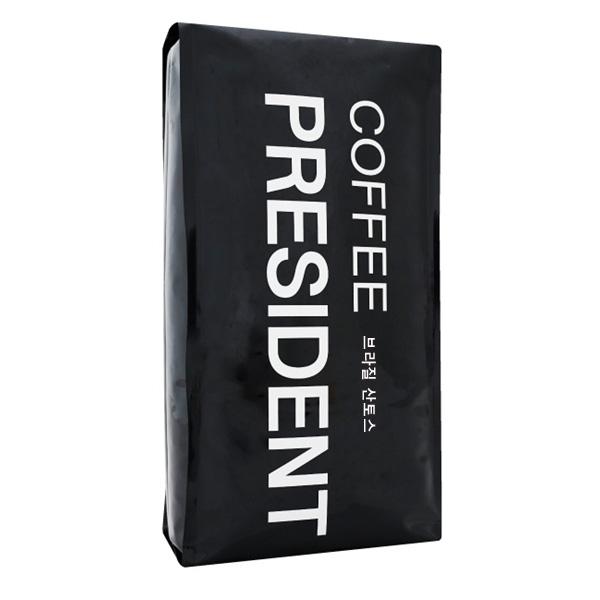 커피대통령 브라질 산토스 NO2 원두커피, 홀빈, 2kg