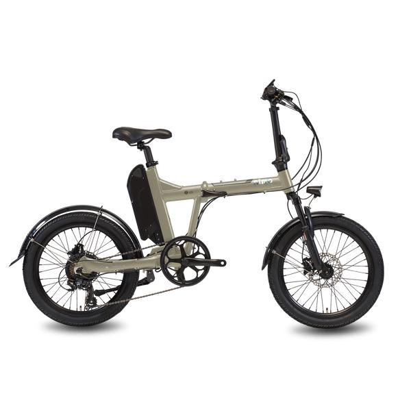 [전기자전거] 알톤스포츠 파스 / 스로틀 겸용 니모 FD 에디션 전기 자전거 13.4Ah 일반셀, 매트베이지, 알루미늄 - 랭킹2위 (1140000원)