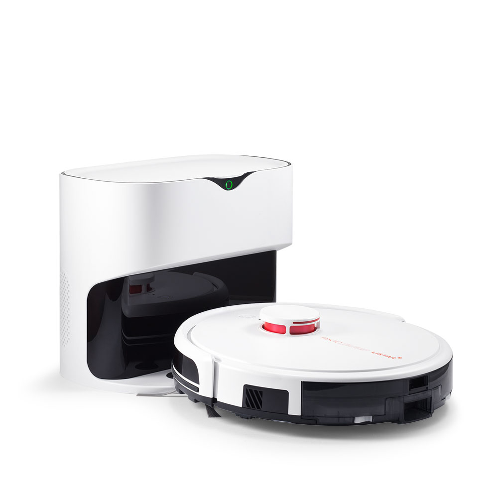 [라이프로 로봇청소기] 라이스타 클린스테이션 퓨어 화이트, RX10 - 랭킹9위 (476100원)