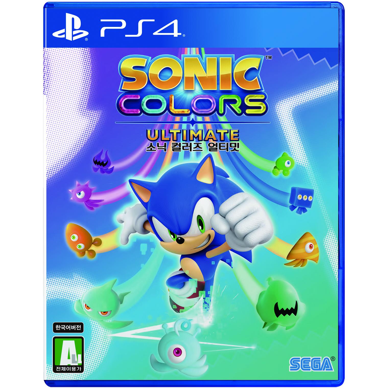 소니 PS4 소닉 컬러즈 얼티밋 한글판