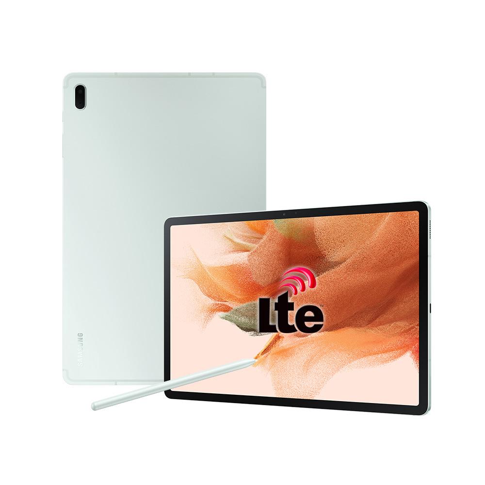 삼성전자 갤럭시탭S7 FE 태블릿PC LTE 64GB, SM-T735N, 미스틱 그린-7-5854413787