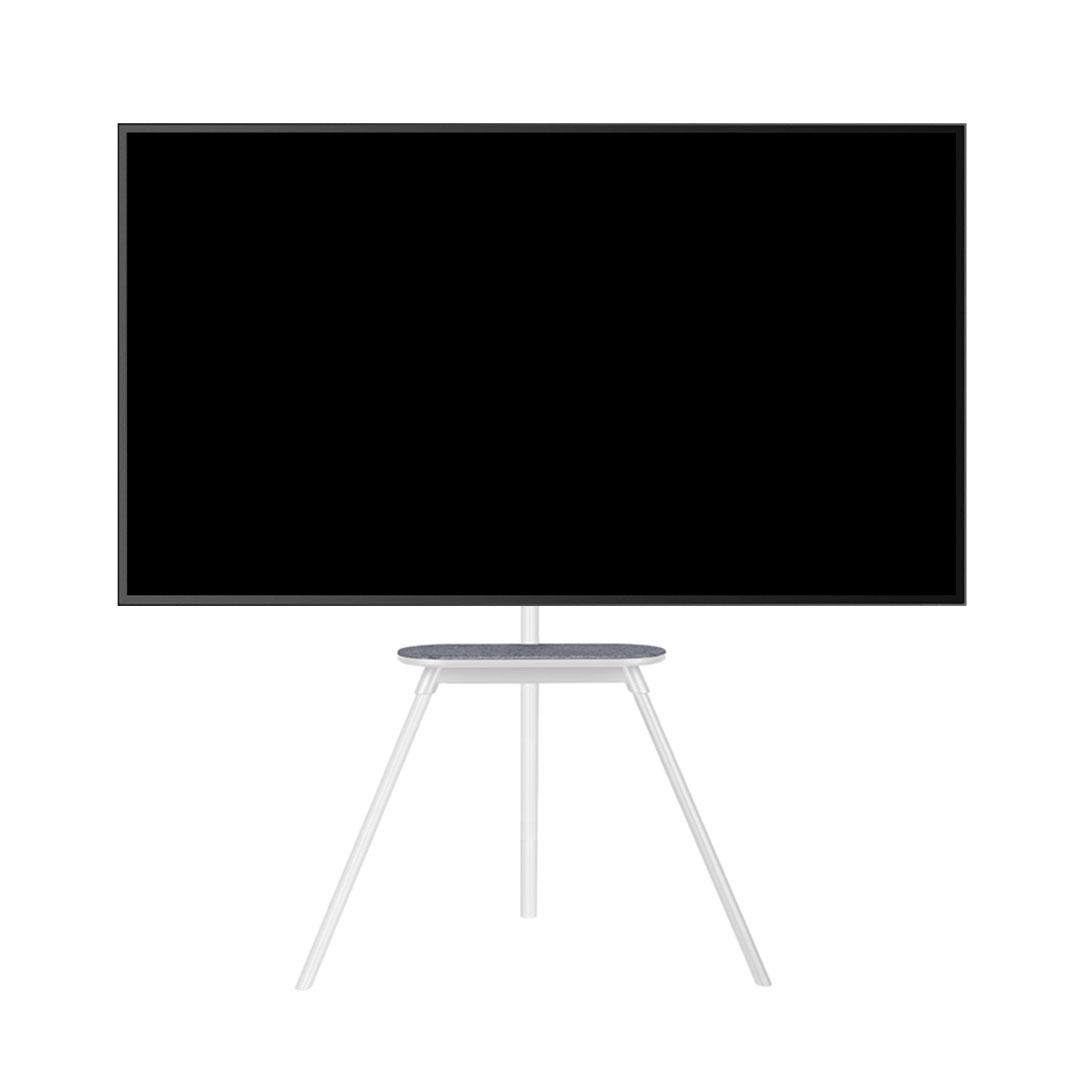 카멜인터내셔널 이젤형 TV 거치대 화이트, SB-65SW