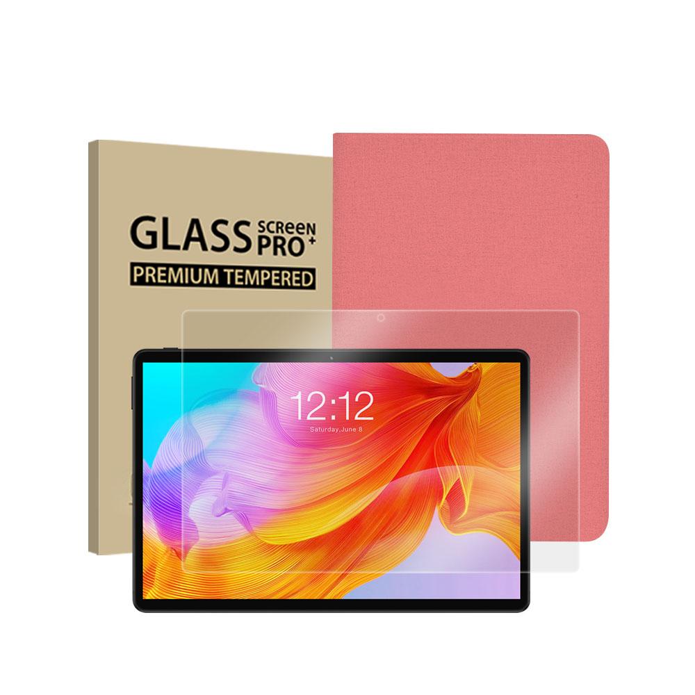 [탭북] 태클라스트 탭북 옥타코어 2 in 1 태블릿PC + 강화유리필름 + 케이스 세트, 핑크(케이스), M40SE - 랭킹5위 (221450원)