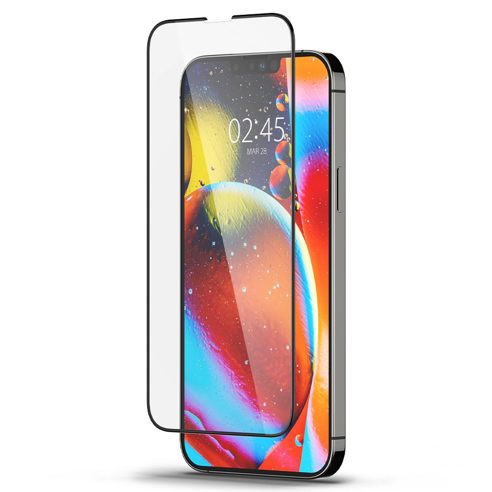 [아이폰13 강화유리] 풀커버 휴대폰 강화유리 FC 블랙 AGL03392, 1개 - 랭킹2위 (22900원)