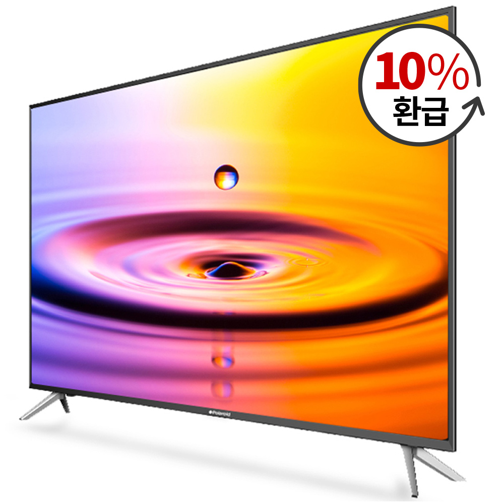 폴라로이드 4K UHD LED 109cm 무결점 TV PDK43CP, 스탠드형, 자가설치