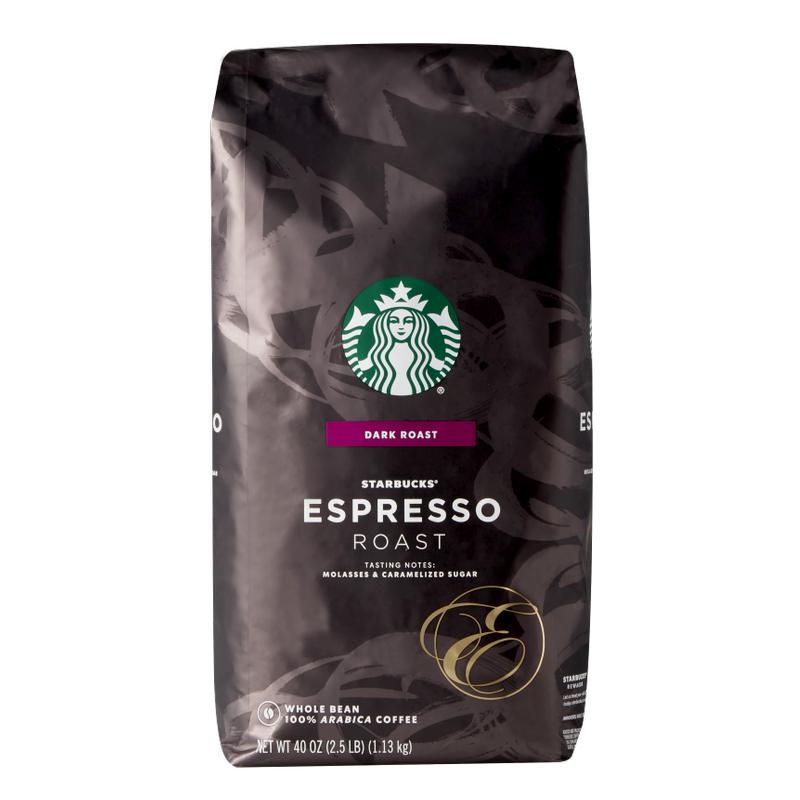 [스타벅스 홀빈] 스타벅스 에스프레소 로스트 커피 원두, 홀빈(분쇄안함), 1.13kg - 랭킹1위 (31360원)