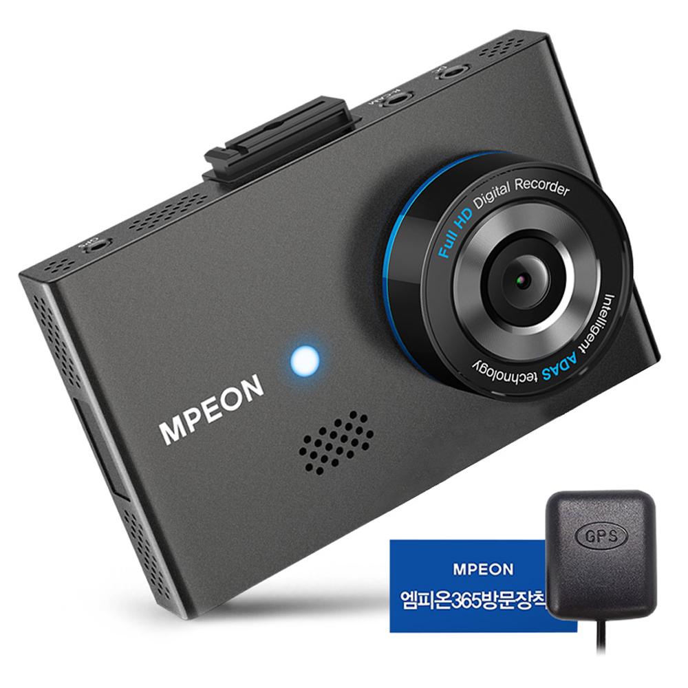 엠피온 전후방 16GB 블랙박스 MDR-F430N + GPS 외장안테나 + 장착권