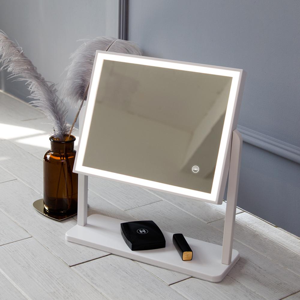 오아 뷰티플러스 조명화장 거울 탁상 메이크업 화장대 책상거울