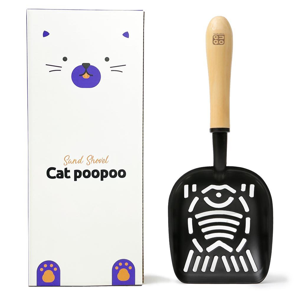 옥희독희 캣푸푸 고양이 화장실 모래삽 (POP 1272153827)