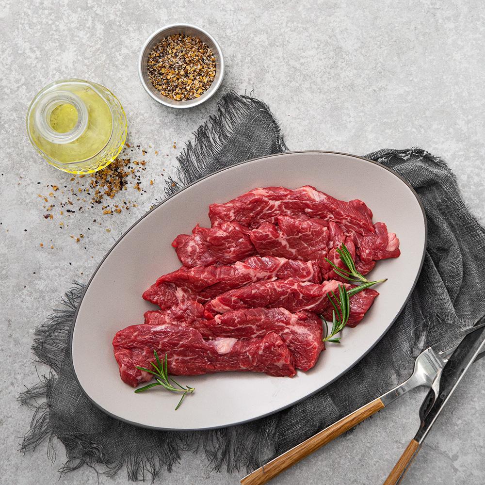 크리스탈팜스 호주산 소고기 치마살 구이용 (냉장), 300g, 1개