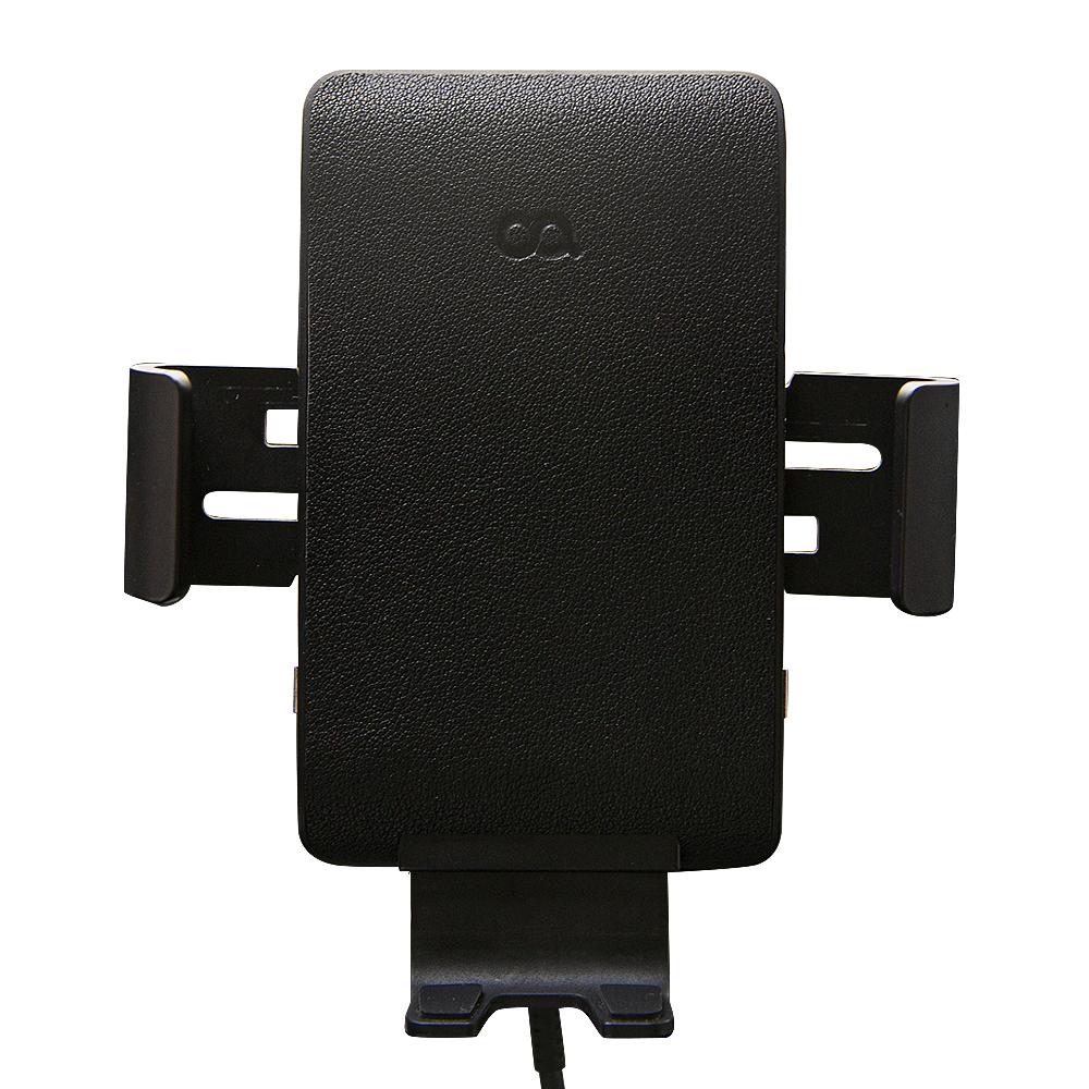 오아 와이더F3 FOD센서 차량용 고속 무선 충전 거치대 스마트폰용 OA-CG035, 1p, 블랙
