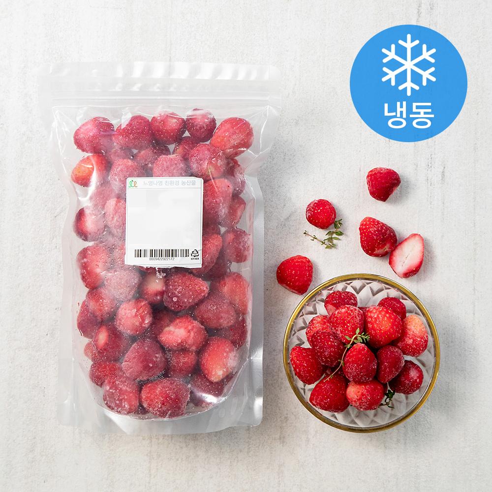 친환경 인증 냉동딸기 (냉동), 800g, 1개