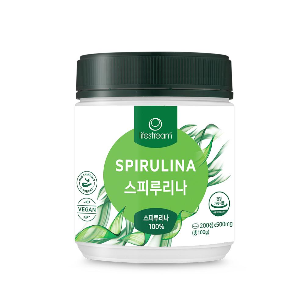 라이프스트림 스피루리나, 200정, 1개