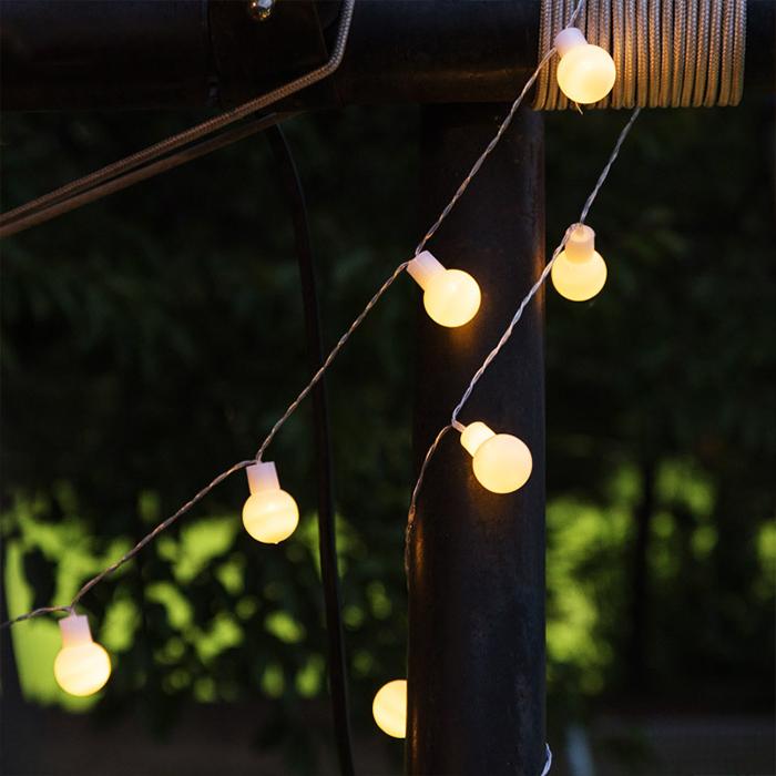어반 LED 큰 앵두전구 40구 + 리모컨, 혼합색상
