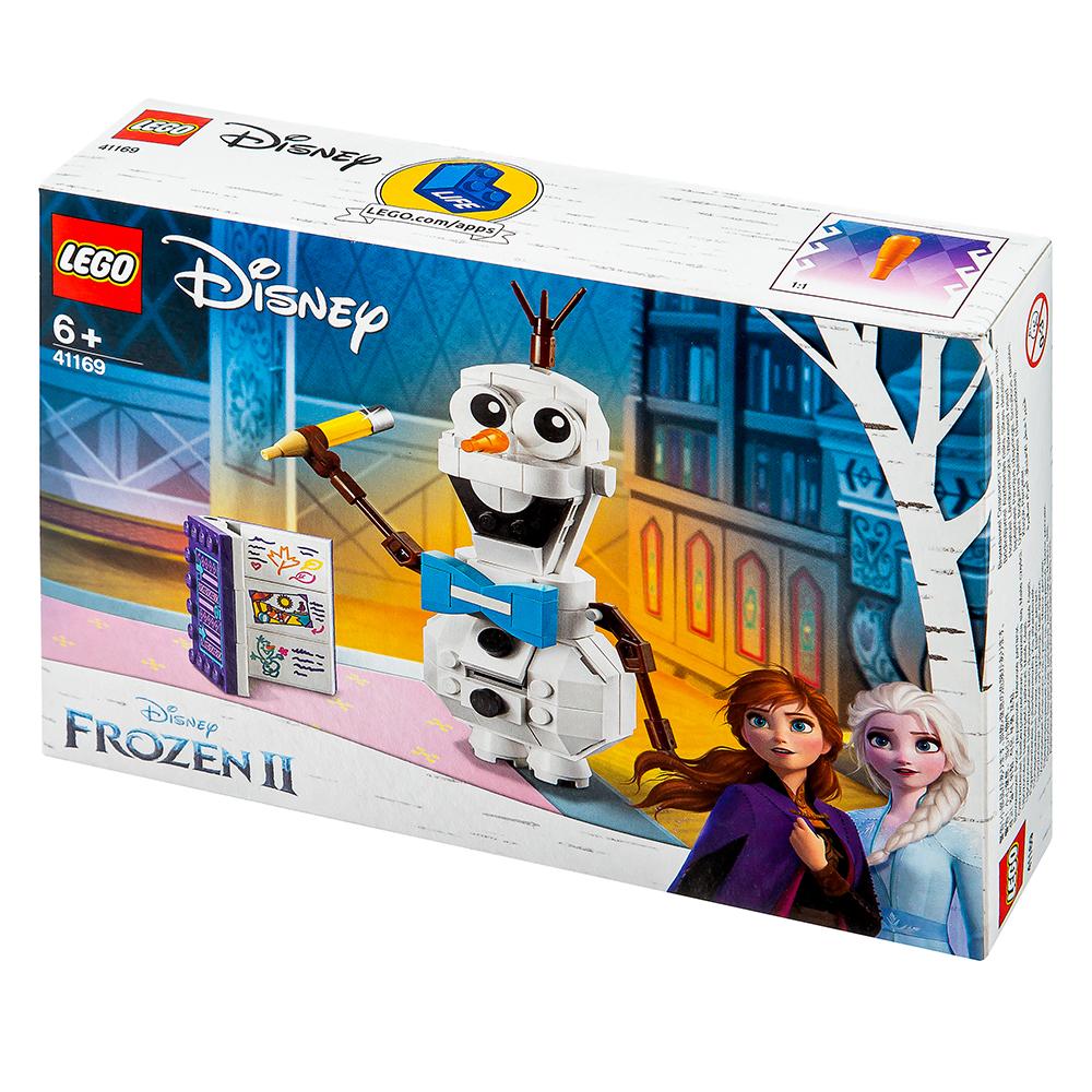 레고 디즈니프린세스 41169 겨울왕국2 올라프, 혼합 색상