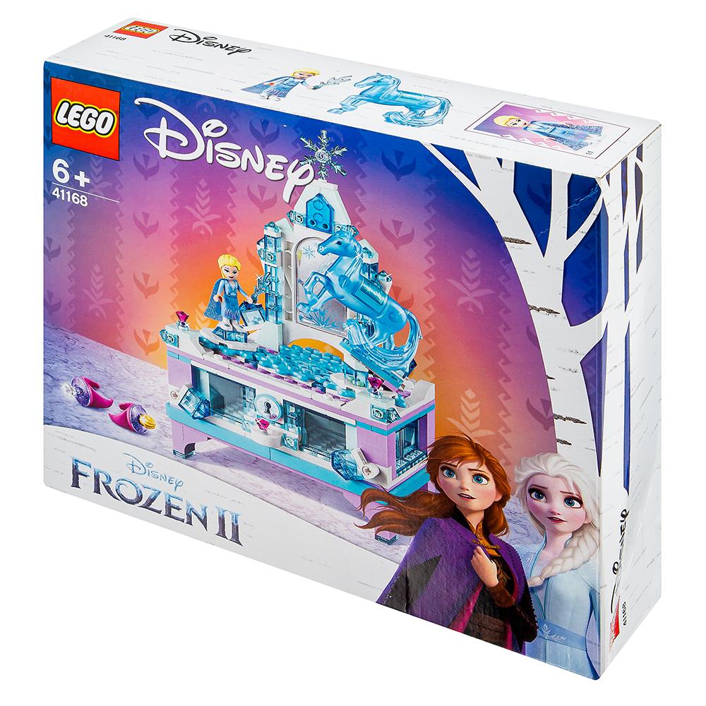 레고 디즈니프린세스 41168 겨울왕국2 엘사의 보석상자, 혼합 색상