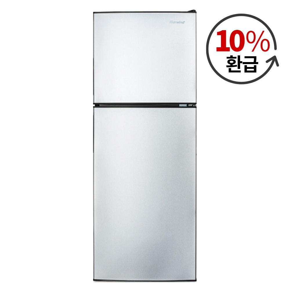 캐리어 클라윈드 1등급 슬림형 냉장고 138L 방문설치, CRF-TD138SDS