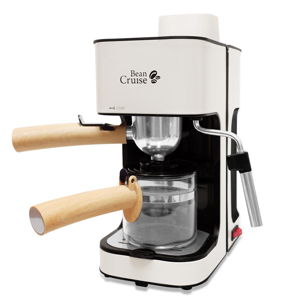 빈크루즈 미니에쏘 가정용 반자동 커피머신, BCC-450ES(크림화이트)