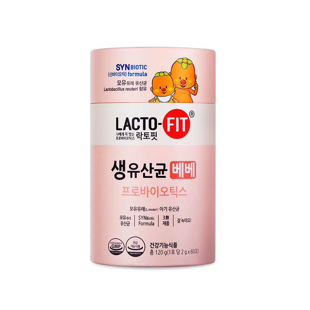 락토핏 생유산균 베베 60포, 120g, 1개