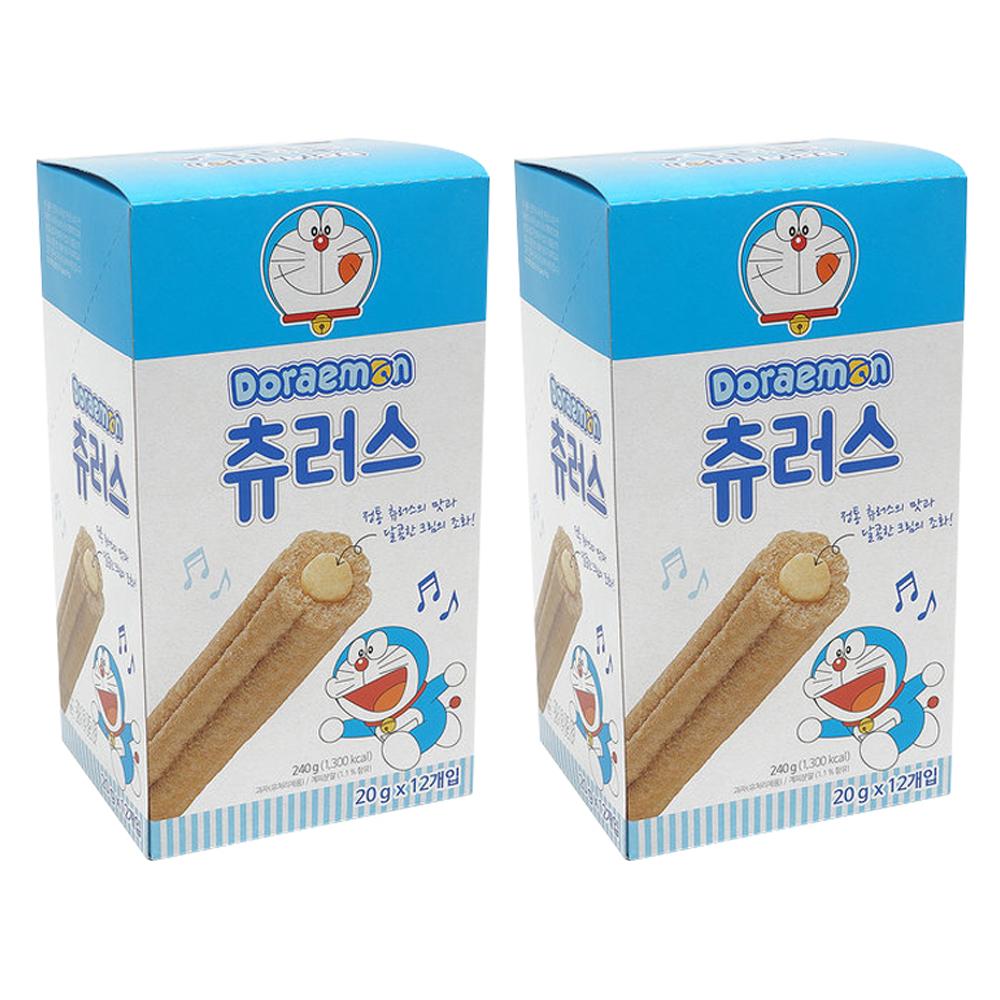 도라에몽 츄러스 과자, 20g, 24개입