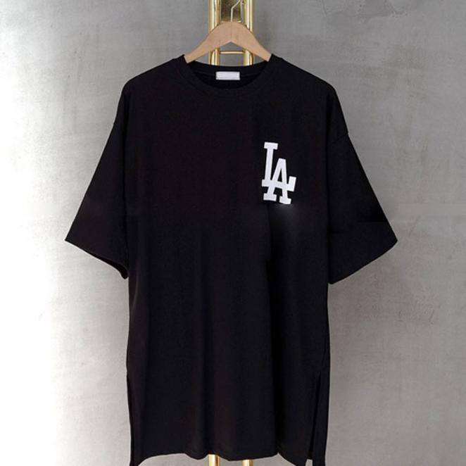 [여성패션] 매드시스터 여성용 LA 레이어드 반팔 롱 티셔츠 - 랭킹65위 (16800원)