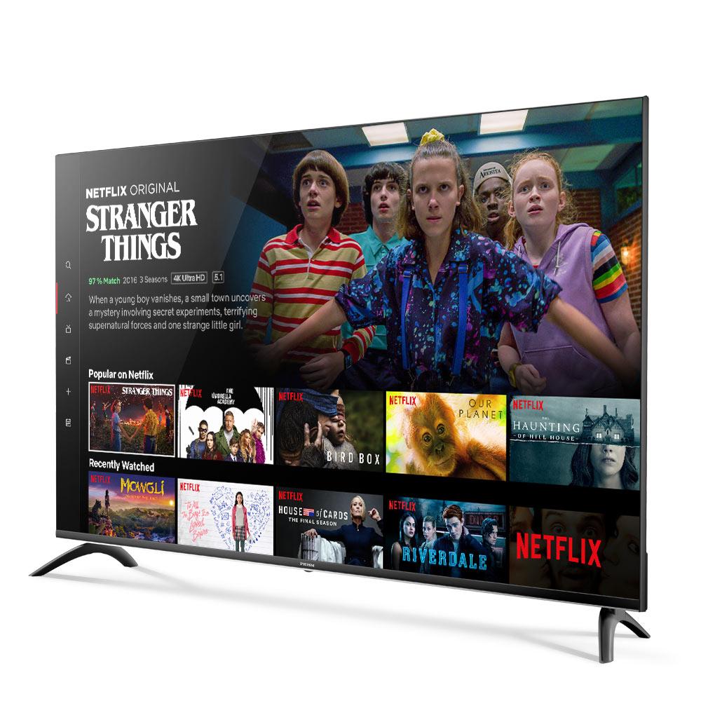 프리즘 UHD HDR 127cm 4K 스마트 TV PT50UL, 스탠드형, 자가설치