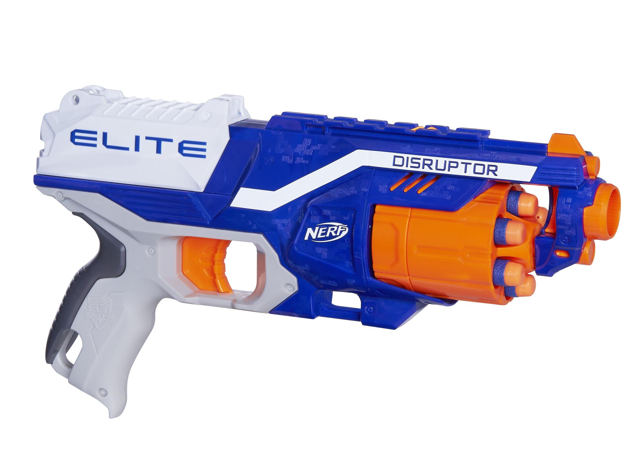 너프 엘리트 디스럽터 장난감총, 혼합 색상