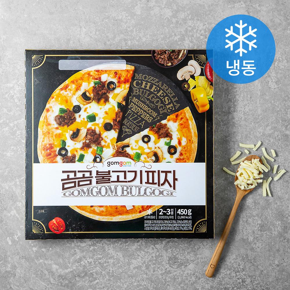 곰곰 불고기 피자 (냉동), 450g, 1개