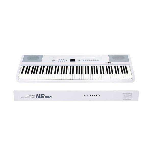삼익악기 88해머액션 건반 디지털피아노 N2PRO, 화이트