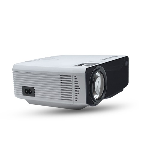 T-vision 무선 미러링 LED 빔 프로젝터, 화이트(TVS-250P)