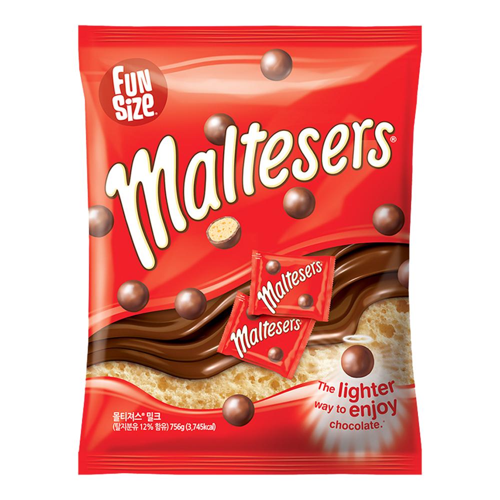 마즈 몰티져스 밀크 초콜릿, 756g, 1개