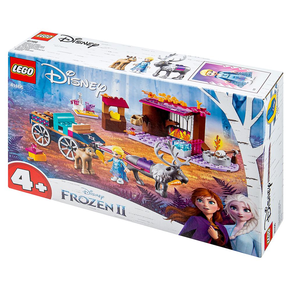 레고 디즈니프린세스 41166 겨울왕국2 엘사의 마차 모험, 혼합 색상